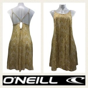 O'Neill Leaf Pattern Strappy  Dress